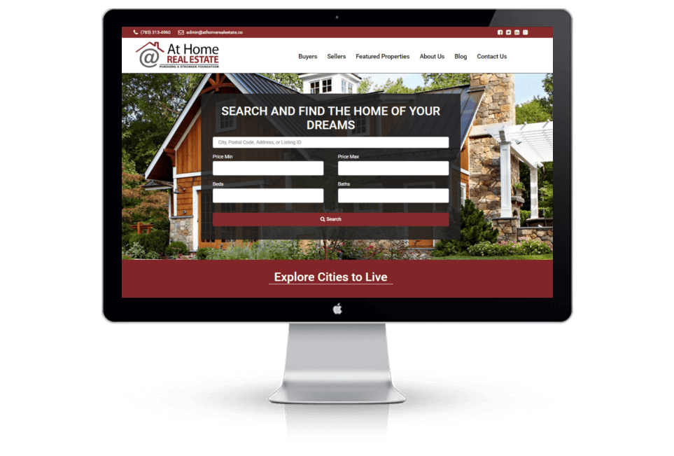 Real Estate Company WordPress Website Design