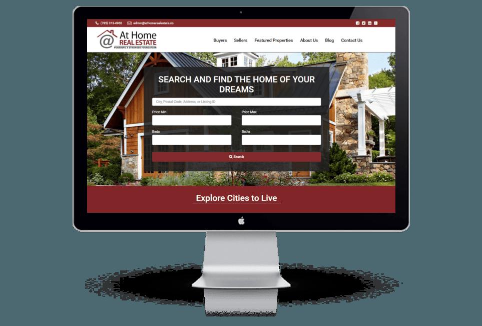 Real Estate Company WordPress Website Design
