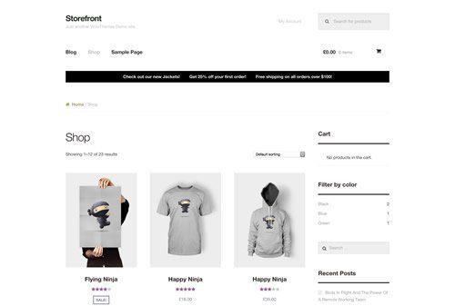 eCommerce Website Design WordPress Shopify